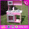 Interessantes Kids Pretend Wooden Kitchen Set Toy, Simulation Pretend Play Wooden Kitchen Toy für Children W10c161