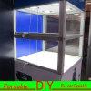 Armadietto di esposizione modulare portatile su ordinazione di mostra della fiera commerciale di disegno DIY
