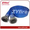 Mangueira azul do PVC Layflat de Zyfire com acoplamento