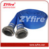 Boyau bleu de PVC Layflat de Zyfire avec le couplage