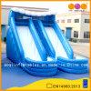 Doppia trasparenza di acqua blu con il raggruppamento per il capretto (AQ1075)