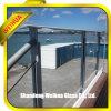Verre feuilleté gâché par lucarne de balustrade de balcon
