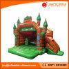 子供のおもちゃ(T2010)のためのBouncy Castle膨脹可能な緑の魔法の王女