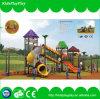 Campo de jogos ao ar livre do equipamento de jogo das crianças do parque de diversões