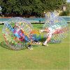 Bola de parachoques de la burbuja humana inflable, carrocería Zorb para el campo de fútbol