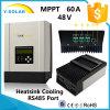 Regulador solar Sch-60A de la visualización de MPPT 60A 48V/36V/24V/12V LCD+LED