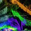 壁の装飾のための水泡クリスマスの照明の滝ライト