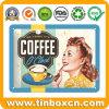 커피 음료 주석 널을%s 포도 수확 장식 주석 금속 표시