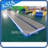 Stuoia utilizzata dell'interno di ginnastica di formato di Short della strumentazione di sport mini, stuoia Tumbling dell'aria, pista di aria gonfiabile