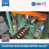 Machine de presse de perforateur d'en-tête pour la chaîne de production de radiateur de panneau de transformateur