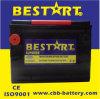 Американский рынок автомобильной аккумуляторной батареи 650 CCA БАТАРЕЯ ЭЛЕКТРОМОБИЛЯ Bci 75