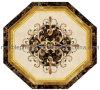 Marmeren Waterjet van de Bevloering Medaillon voor Binnenhuisarchitectuur