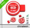Lecteur flash USB D48 de PVC