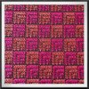 Terra Chiffon com bordado colorido