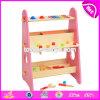 Комплект инструмента малышей нового воспитательного пинка игры здания деревянный с подгоняет W03D087