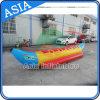 Una sola hilera de 5 personas de agua inflable Banana Boat para mar/Lake juego de deporte