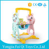 De nieuwste Schommeling van het Jonge geitje van China Binnen Plastic en het Vastgestelde Speelgoed van de Kinderen van het Stuk speelgoed van het Spel