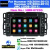 Hmr-8723G 7 2 doble DIN DIN Auto reproductor DVD reproductor multimedia GPS Android antirreflectante coche Play Radio Conexión WiFi GPS Video Naviradio estéreo para coche
