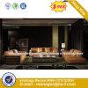Heißes verkaufenhotel-Möbel-Gewebe-Wohnzimmer-Sofa (HX-SN8076)