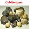 Guijarros (a color) / piedra / piedra del jardín / decoración de piedra (XG-049)