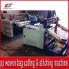 Machine piquante automatique de découpage de bas de sac tissée par pp