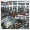 Botellas plásticas detergentes que hacen la máquina