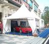 Tente blanche de pagoda de toile de PVC pour le garage 5m*5m de véhicule