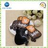 Étiquette de couture en caoutchouc de vêtement en caoutchouc d'étiquette nommée de bagage (JP-PL016)