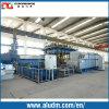 Machine de presse de refoulage de profil de magnésium dans la ligne en aluminium de machine d'extrusion