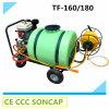 Pulvérisateur agricole de jardin de puissance de l'essence 168f avec Weels à vendre (TF-160/180)