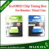 15% 연료 Save Ecoobd2 Chip Tuning Box Eco OBD2 Benzine Petrol Gasoline 및 Diesel Cars Plug & Drive Device Obdii Diagnostic Tool Retail Box