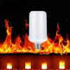Parpadeo del fuego de la emulación de la luz de bulbo de la llama del efecto de fuego de la lámpara de la llama de la muestra libre LED LED