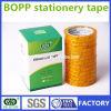 3 pulgadas de la base BOPP de cinta adhesiva de papel de los efectos de escritorio hecha en China