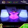 Geleuchtete Farbe, die Möbel des LED-Tisch-LED ändert