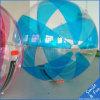 Blaues Wasser-gehende Kugeln mit Tizip und TPU1.0 Material D=2m für 1 Person