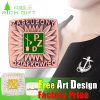 Nuovo Pin del risvolto del distintivo di disegno di Pin del risvolto dello spazio in bianco di stile 2016 da vendere