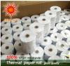 Cajero automático de doble cara recubierta de diversos tamaños de rollos de papel