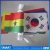 De milieuvriendelijke Bevordering Afgedrukte Douane Gevoelde Vlaggen van het Koord van de Wimpel PE/Paper/Non-Woven/Fabric