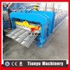 O metal de aço colorido vitrificou o rolo da telha de telhado que dá forma à máquina feita em China