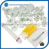 комплект вспомогательного оборудования инструментов торта Fondant 46PCS