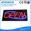 Muestra abierta impermeable del rectángulo LED de Hidly