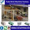 ブロック機械を紙やすりで磨かせる機械に半自動Qt4-24bの舗装の煉瓦