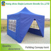 سهلة المنبثقة في الهواء الطلق حديقة الصلب أكشاك خيمة مع الجدران الجانبية