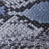 Couro do plutônio do teste padrão da serpente para as bolsas (k138)