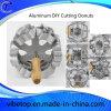 Fabricante de Euro a la exportación de la herramienta de cocina bricolaje buñuelos de corte de aleación de aluminio