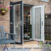 高品質によって二重ガラスをはめられる熱壊れ目Aluminium ドア