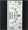 Сказовый водоустойчивый цветастый временно стикер Tattoo