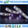 Flexibler UV365nm purpurroter LED Streifen des Licht-2835 SMD