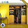 Armário de madeira do Wardrobe do Wardrobe moderno do MDF (HX-LC2092)
