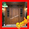 Sidelightsの外部Hardwood Door
